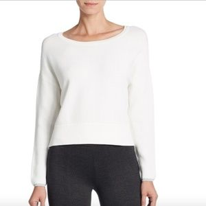 Joie Gabele Textured Cropped Knit Sweater